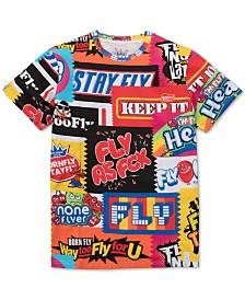 Born Fly Men's Big & Tall Too Fly T-Shirt