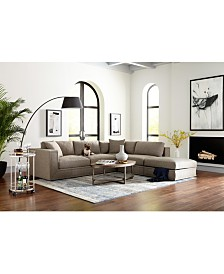 SHOP THE LOOK: Dulovo Fabric Sectional