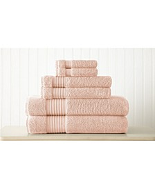 6-Pc. Turkish Cotton Towel Set