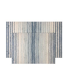 Gradiation Bath Rug 2 Pc Set