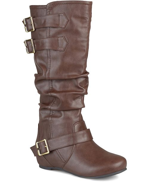 Journee Collection Women's Wide Calf Tiffany Boot