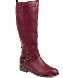 Journee Collection Women's Comfort Extra Wide Calf Ivie Boot
