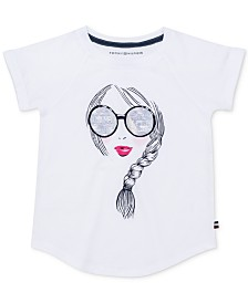Tommy Hilfiger Big Girls Girl Graphic Cotton Top