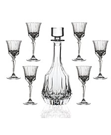 RCR AdagioCrystal 7pc. Liquor set