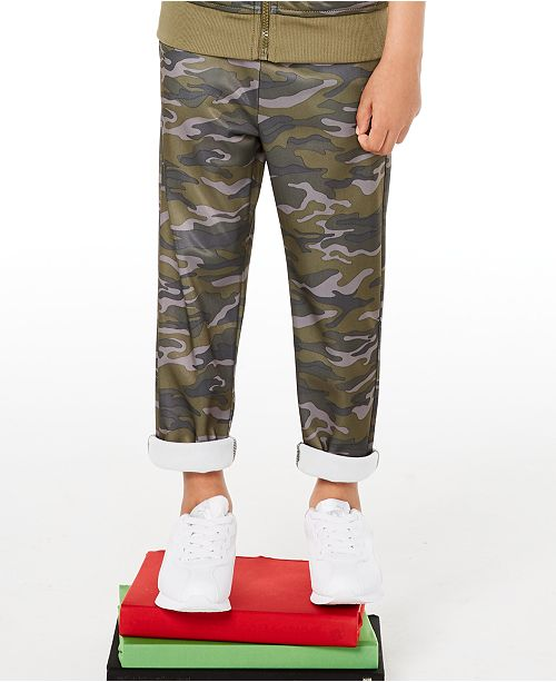 Epic Threads Little Boys Camouflage Tricot Pants, Created for Macy's