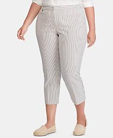 aaf886a5e Lauren Ralph Lauren Womens Pants - Macy's