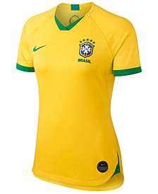 Women's Brazil National Team Women's World Cup Home Stadium Jersey