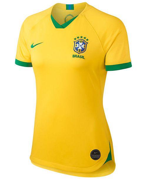 Nike Women's Brazil National Team Women's World Cup Home Stadium Jersey