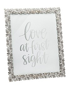 Weave Branch W Pearls Frame - 8x10