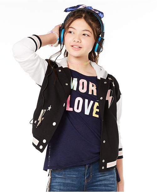 Epic Threads Big Girls More Love-Print T-Shirt, Created for Macy's