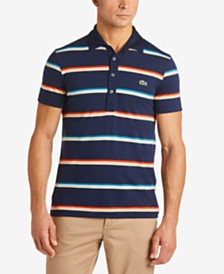 Lacoste Men's Pima Striped Polo