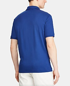 Polo Ralph Lauren Men's Big & Tall Classic Fit Interlock Cotton Polo
