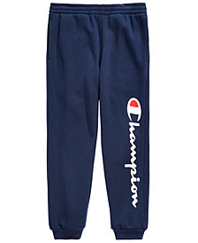 Champion Big Boys Logo-Print Jogger Pants