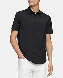 Men's Classic-Fit Stretch Solid Shirt