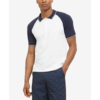 Kenneth Cole New York Men's Colorblocked Polo Deals
