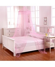 Cottonloft Galaxy Collapsible Hoop Sheer Mosquito Net Bed Canopy