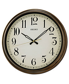 Seiko Outdoor Wall Clock QXA548BLH