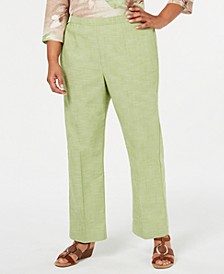 Plus Size Santa Fe Straight-Leg Pants