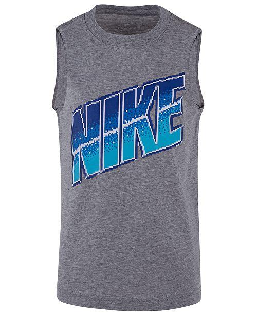 Nike Little Boys Graphic-Print Sleeveless T-Shirt