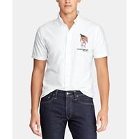 Polo Ralph Lauren Men's Big & Tall Bear Oxford Cotton Shirt Deals