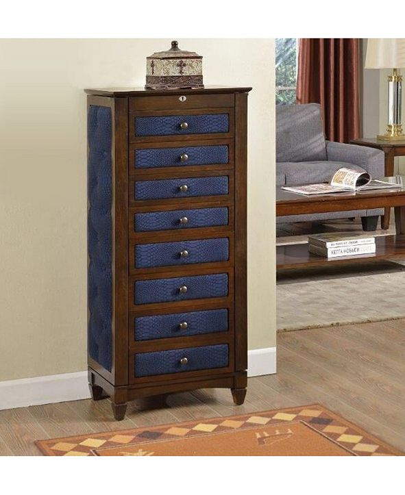 Nathan Direct 8-Drawer Jewelry Armoire