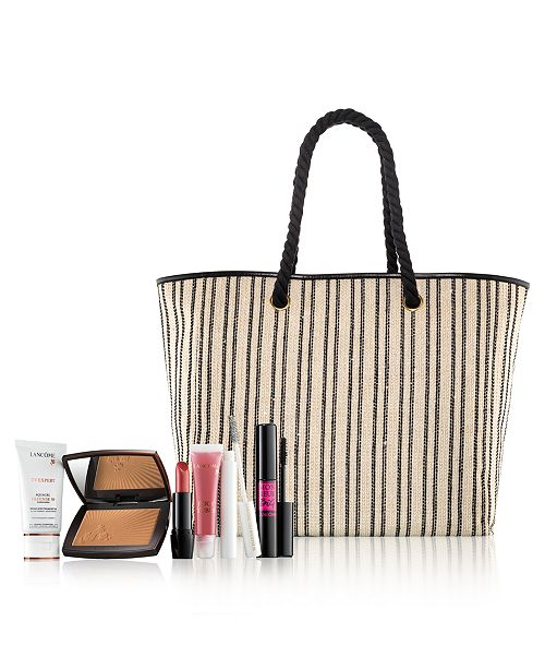 Lancome The Parisian Glow 6-Piece Collection. $45 with any Lancôme Purchase (A $172 Value)