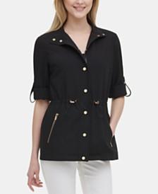 Calvin Klein Drawstring-Waist Jacket