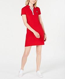 Short-Sleeve Polo Dress, Created for Macy's
