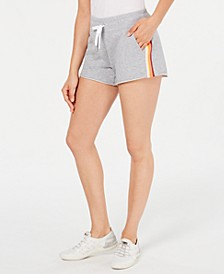 Ombré-Stripe Shorts