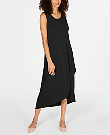 Petite Solid Tulip-Hem Dress, Created for Macy's