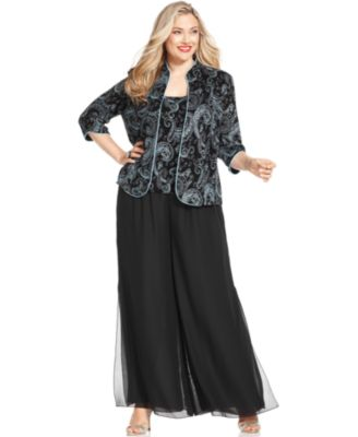 Plus size cocktail dresses and pantsuits