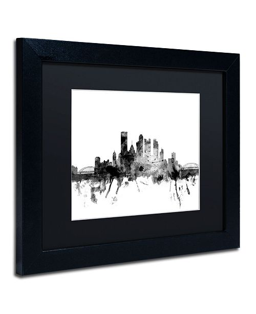 Trademark Global Michael Tompsett 'Pittsburgh PA Skyline B