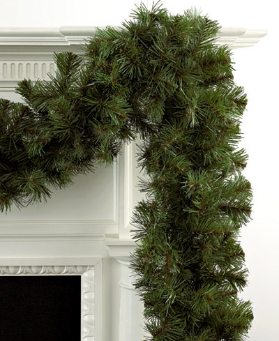 Kurt Adler 9' Virginia Pine Garland - Holiday Lane - For ...