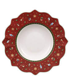 Villeroy & Boch Toy's Delight Red Rim Soup Bowl