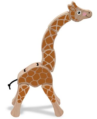 Melissa and Doug Kids Toys, Giraffe Grasping Toy