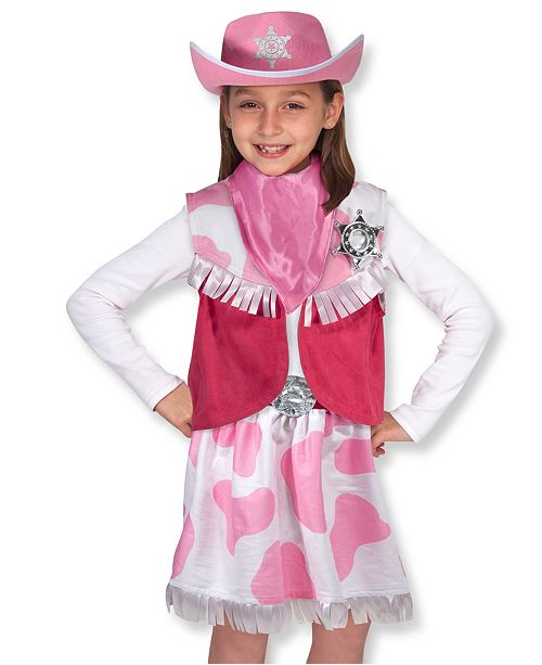 Melissa And Doug Kids Toys Cowgirl Costume Amp Reviews Macy S