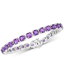 Amethyst Tennis Bracelet (18 ct. t.w.) in Sterling Silver