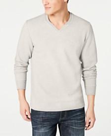 I.N.C. Men's Textured Split-Neck Sweatshirt, Created for Macy's