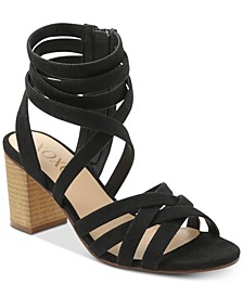Eden Block-Heel Dress Sandals