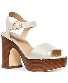 MICHAEL Michael Kors Fiona Platform Dress Sandals