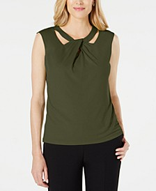 Criss-Cross-Neck Top