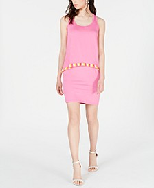 Richmond Fringe-Trim Dress
