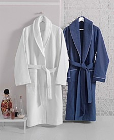 Waffle Terry Turkish Cotton Bathrobe