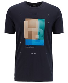 BOSS Men's Logo Graphic Cotton T-Shirt