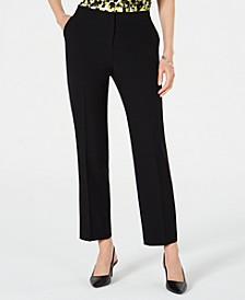 Petite Straight-Leg Pants