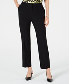 Kasper Stretch Ankle Pants