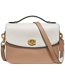 Cassie Crossbody in Colorblock With Snakeskin Detail