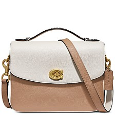 COACH Cassie Crossbody In Colorblocked Leather With Snake-Print