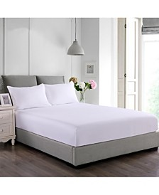 Cottonloft Stayclean Cotton Water and Stain Resistant Fitted Bed Protector Set