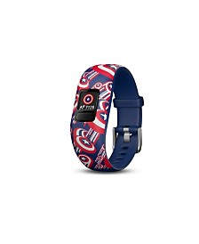 Vivofit jr. 2 Marvel Captain America Adjustable Kids Activity Tracker